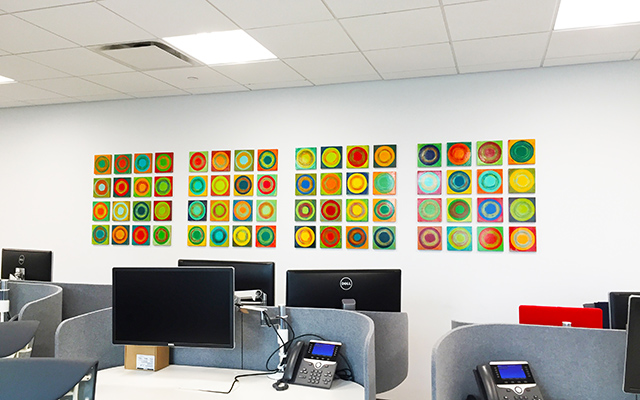 Corporate Office Art | Modern Fine Art |