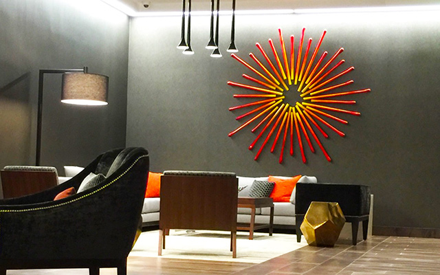 Hospitality Art | Corporate Artwork | Custom Wall Sculptures