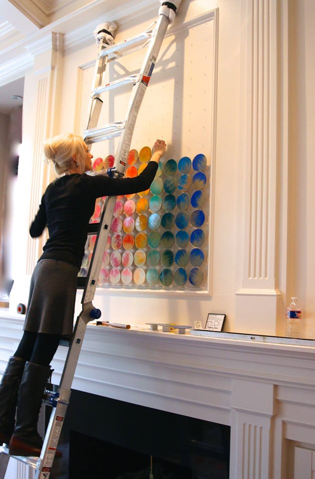 color-code-large-art-installation-private-installation-circle-wall-art-1