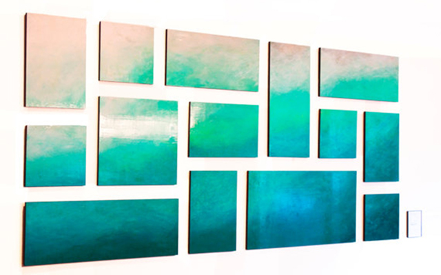 Ethereal Sea | Contemporary Wood Wall Sculpture