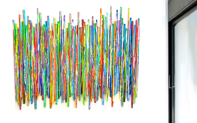 Life Experiences | Drip Contemporary Wall Sculpture | rosemary pierce modern art