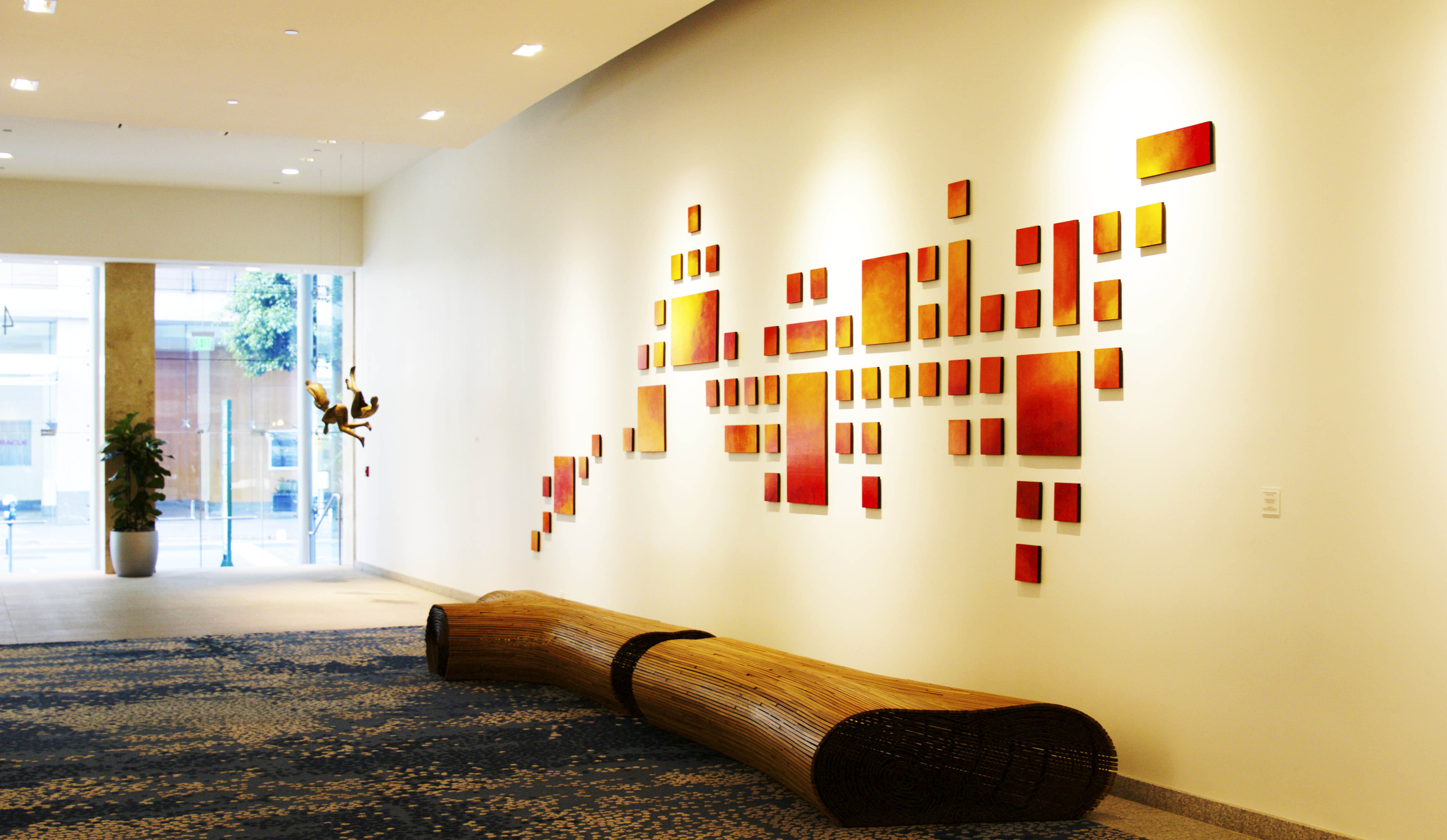 Rosemary Pierce Modern Art | Original Wall Sculpture Art Installations