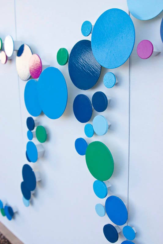 custom abstract wall sculpture by rosemary pierce