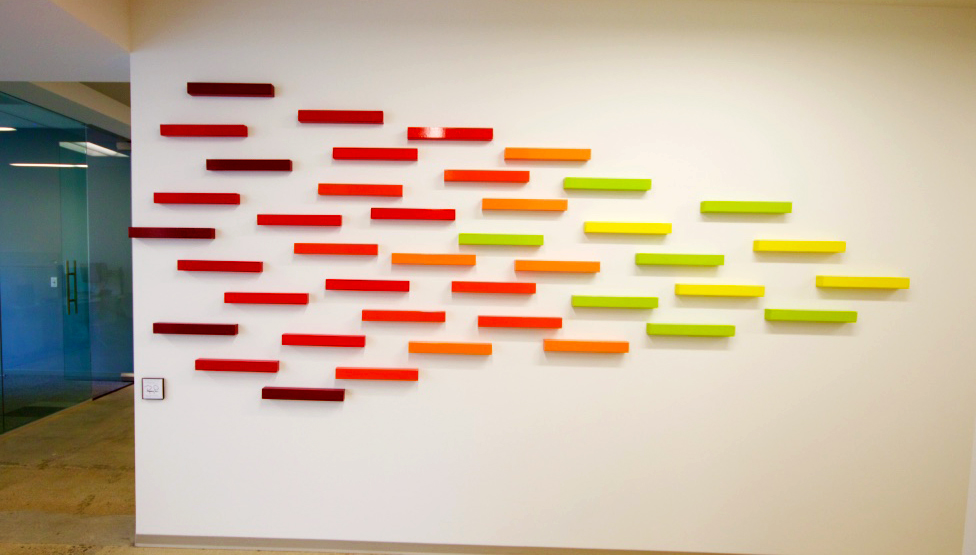 3D Wall Art | Wood Wall Sculpture | rosemary pierce modern art