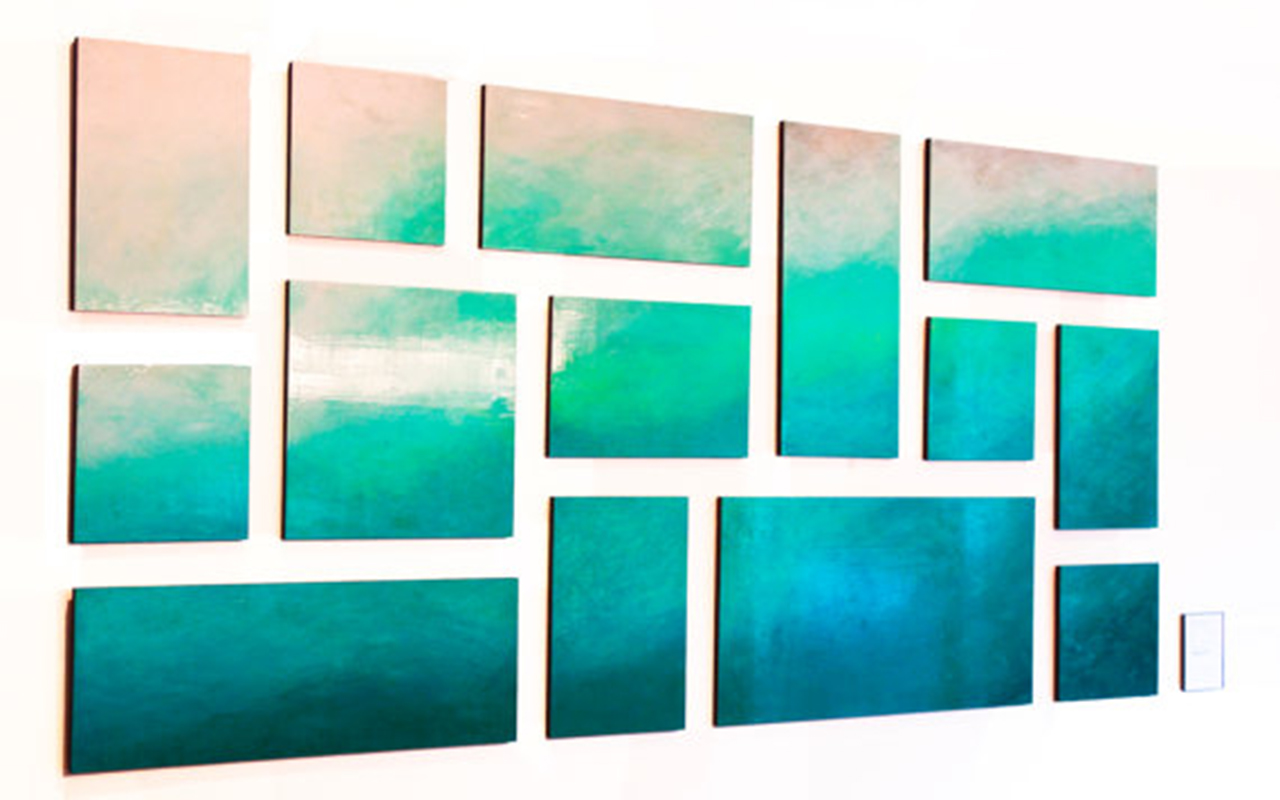 Ethereal Sea | rosemary pierce modern art | large scale art installations