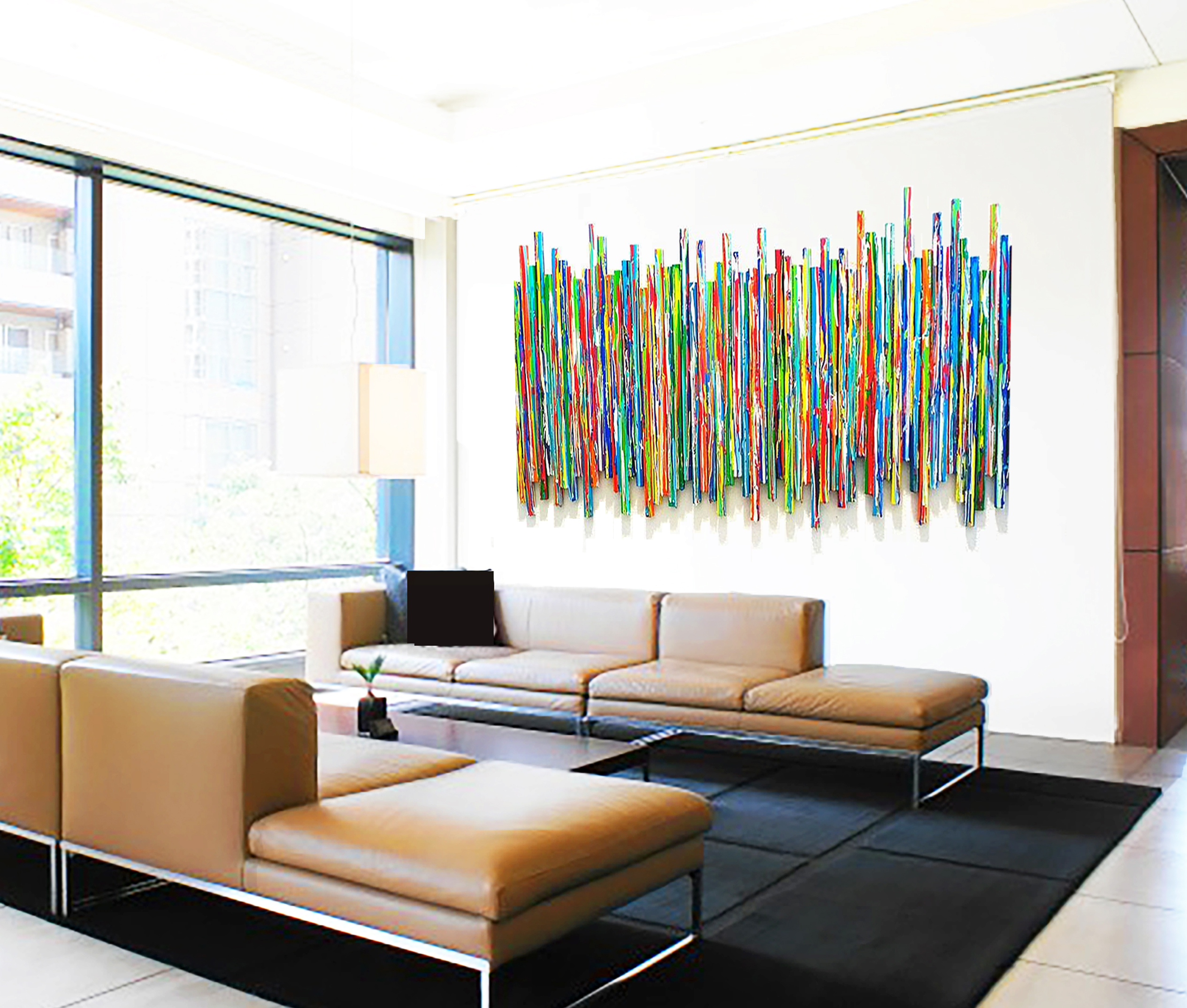 Modern waiting room art | Original Healthcare Art | Custom Corporate Art | Rosemary Pierce