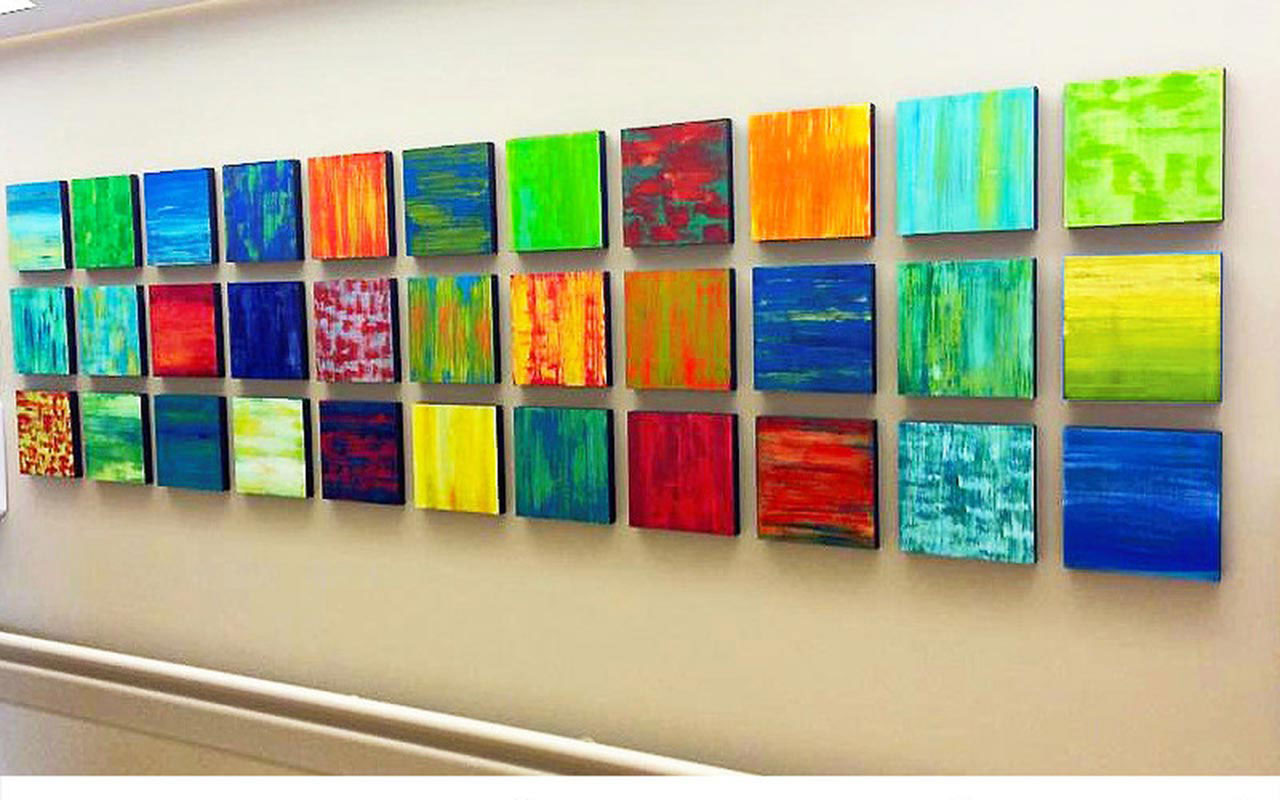 Modern Healthcare Art | Hospital Artwork | Corporate Artwork | Rosemary Pierce