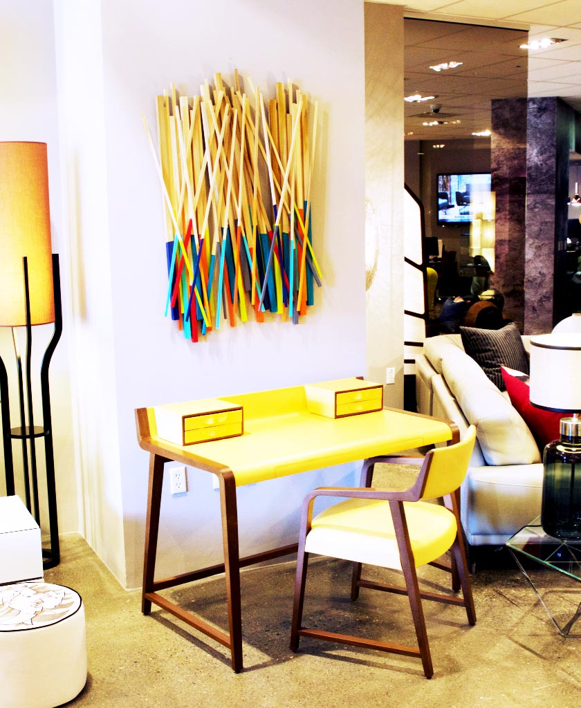 Roche Bobois Paris, San Francisco | rosemary pierce modern art